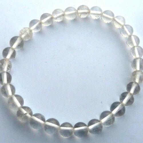 bracelet cristal de roche amplificateur energetique