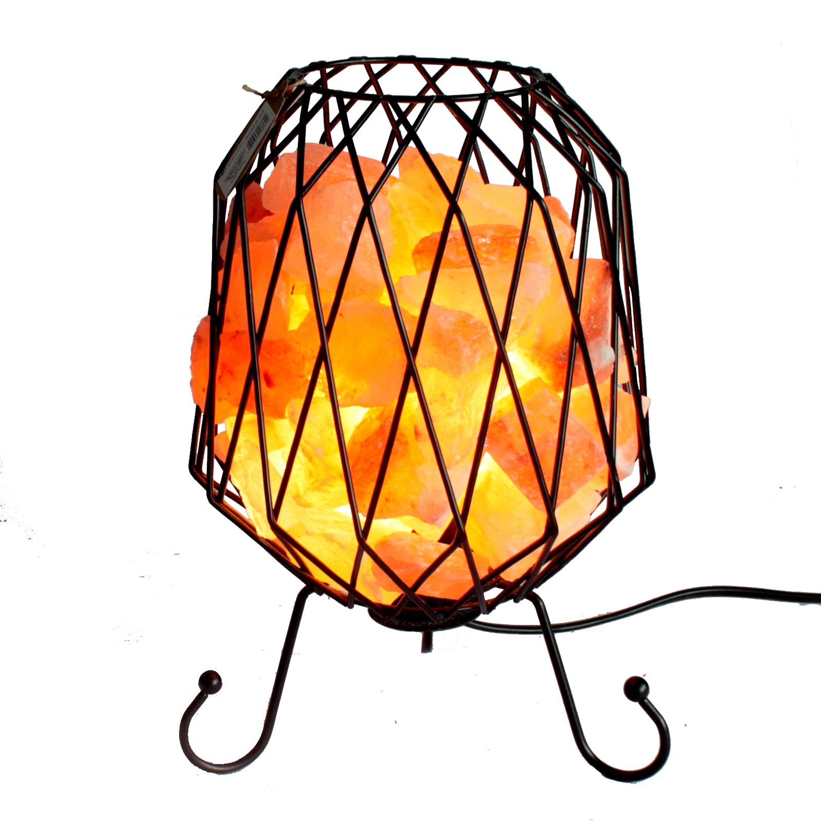 lampe brasero cristal de sel