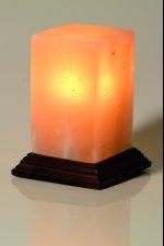 lampe cristal sel cube