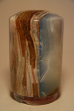 Lampe onyx cylindrique