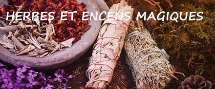 Herbes encens magique bruleurs
