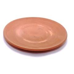 assiette terre cuite